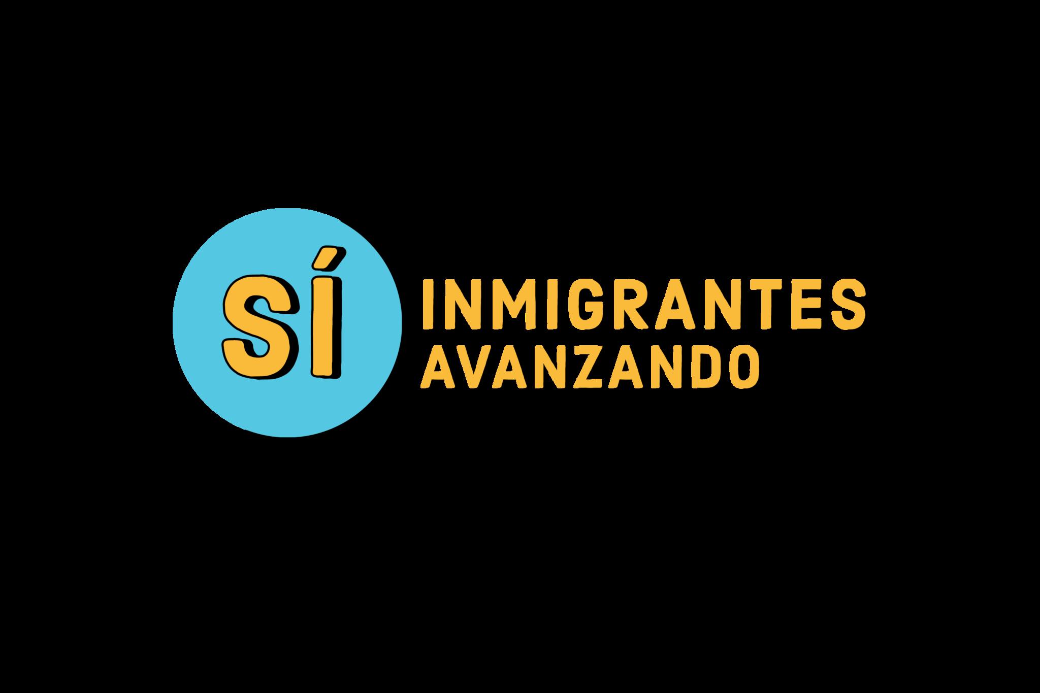 Si inmigrantes avanzando